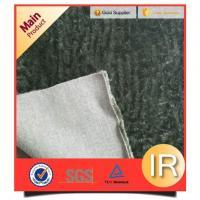 Dark Green Faux Fur Pillow Fabric For Faux Fur Upholstery Fabric Manufactures
