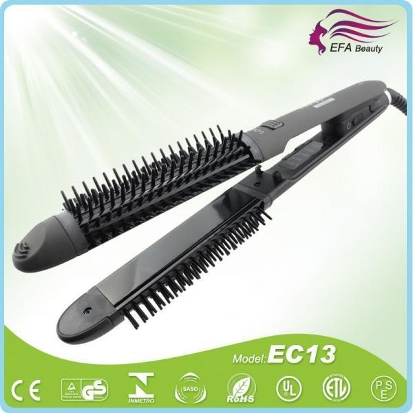 Quality 2 in 1 Hair Straightening curling iron EC13 for sale