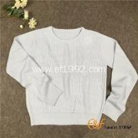 China Classic Fashion and Basic Style Womens Crew Neck Sweater on sale