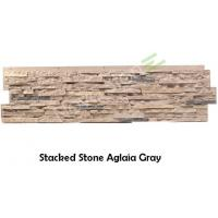 Waterproof Polyurethane Fake Stone Panels Exterior Faux Stacked Stone Wall Panels Fireplace Manufactures
