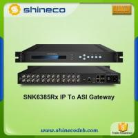 Chinese Price Broadcasting DTV Gateway IP to ASI Converter Manufactures