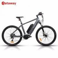 China Sataway high quality electric mountain bike bicycle with bafang mid drive system on sale