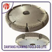 HM35 Vacuum Brazed Diamond Dry Cutting Saw Blade For Sandstone Manufactures