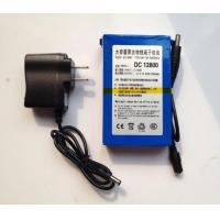 Portable super 8000mah DC12V li-polymer ups battery with AC Charger for LED Board CCTV Camera Manufactures