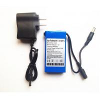 12V Portable Rechargeable 3000mah li-ion battery with AC Charger for CCTV Camera Manufactures