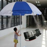 LT307 Outdoor Water Misting Umbrella System with Self Priming Pump Manufactures