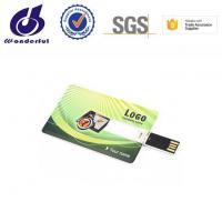 Print LOGO 1gb 32gb Business Credit Card Usb Memory Stick Flash Drive Manufactures