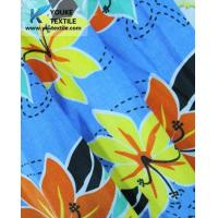 110gsm Nylon-Cotton Reactive Printing peached Waterproof Fabric Used For Beach Pants Manufactures