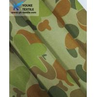 Tencel-polyester With Conductive Filament Yarn Reactive Printing Camouflage Fabric Manufactures