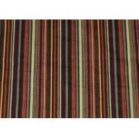 China Printing Stripe 100% Cotton Upholstery Fabric Corduroy For Shirt on sale