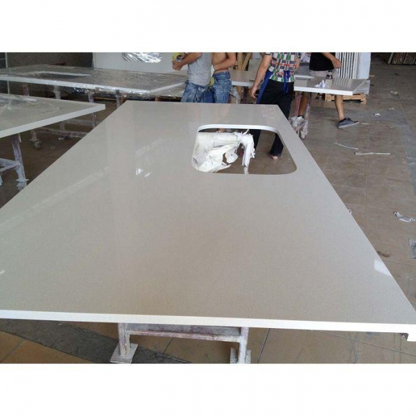 China Artificial Quartz Stone Vanitytops Countertops with Sparkle