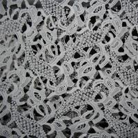Embroidery Lace Rayon Nylon Lace Fabrics Manufactures