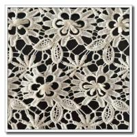 China Embroidery Lace 100% Cotton Lace Fabric Mini Flower on sale