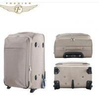 Spinner Polyester Luggage Large Suitcase Manufactures