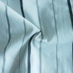 Quality Cotton Silver Spandex Yarn-dyed Fabric for sale