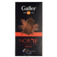 Galler Tablet Noir Intense 70 % Manufactures