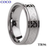 China TR96 Mens Tungsten Carbide Rings Wedding on sale