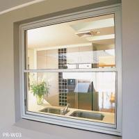 China Aluminum double hung window on sale