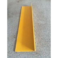 Buy cheap Construction Application and Anti-slip Surface Treatment FRP Stair Nosing from wholesalers