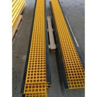 GRP Grating for Stair Tread with Black Nosing Manufactures
