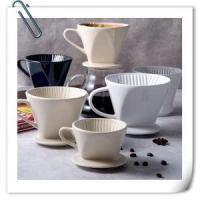 American Cup Ceramic Filter Equipment Bubble Paper Coffee Filter Drip Cup Manufactures