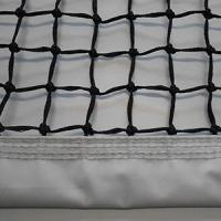 Buy cheap PE Braided Tennis Net with White PVC Tarpaulin from wholesalers