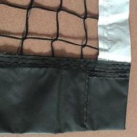 Buy cheap Knotless Tennis Net with Black and White Band from wholesalers