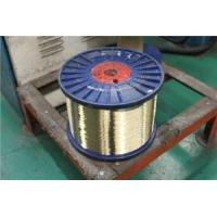 0.50mm Normal Tensile Strength Hose Line Brass Clad Steel Wire For Hydraulic Hose Manufactures
