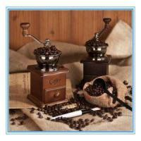 Solid Wood Hand Coffee Grinder Grinding Machine Hand Coffee Machine Mill Manufactures
