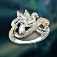 Inspirational Jewelry Serenity Dove Ring Manufactures