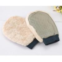 Mitt MT004 Sheepskin wash mitt with mesh Manufactures