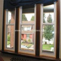 China Thermal Break Aluminum Double Hung Window on sale