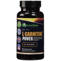 China L-Carnitine Power Muscle Building, Energy L-Carnitine 1000mg 180 Capsules 2 Bottles on sale