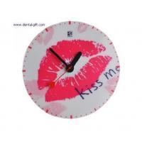 China Dental keychain Product name:Lips craft clock wholesale