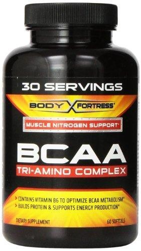 Quality Body Fortress BCAA Tri-Amino Complex Nutritional Supplement, 30 Servings, 60 Count for sale