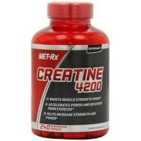 China MET-Rx Creatine 4200 Diet Supplement Capsules, 240 Count on sale