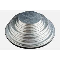 round silver thick corrugated cake drums Manufactures