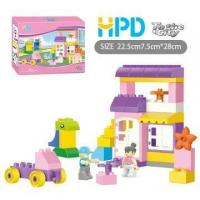 38PCS Plastic Building Blocks My Delivery Trip Manufactures