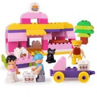 Quality Girls Series Bakery Plastic Blocks Building Toy for sale
