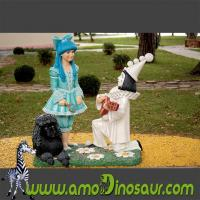 China Cartoon figure princess model made from polyresin with best price on sale