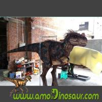 Buy cheap Jurassic Parties Robotic Game Equipment Realistic Dinosaur Costume from wholesalers