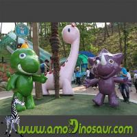 Fiberglass cartoon animals characters giraffe,mouse and frog Manufactures