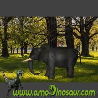 Buy cheap Moveable animatronic elephant animal riding for amusement park from wholesalers