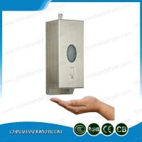 China Stainless Steel Foaming Hand Soap Wall Mounted Liquid Soap Dispenser on sale