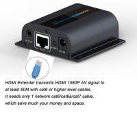 HDMI Extender High quality IR control loop-out Over Single RJ45 CAT6/6a/7 Cable hdmi extender Manufactures