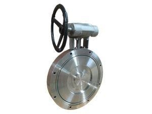 Quality Stainless Steel Vacuum SS Butterfly Valve with Gear Pneumatic PN10 for sale