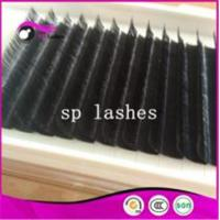 China Synthetic Mink Korean Sik Real Mink Fur Material Eye Lashes Extensions Available wholesale