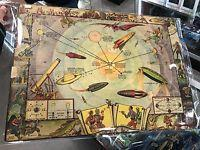 Buck Rogers 1933 Vintage Map Of The Solar System And Seasons And The Earth's Orbit Manufactures