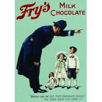 Buy cheap Culture Post Card Frys Milk Chocolate Policeman from wholesalers