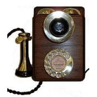 Culture Wood and Brass Wall Phone Manufactures